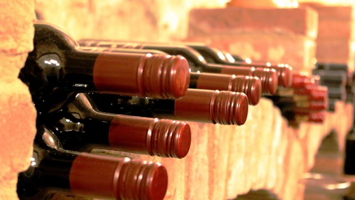 Almacenar el vino