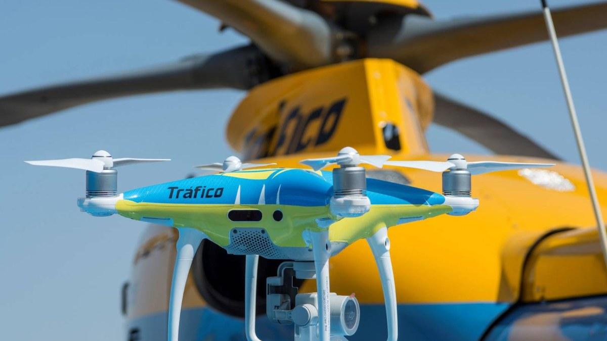 La DGT utiliza 11 drones para vigilar las carreteras españolas