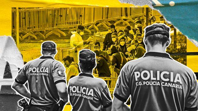 Policías de Canarias denuncian que dejan de patrullar para atender disturbios en centros de acogida