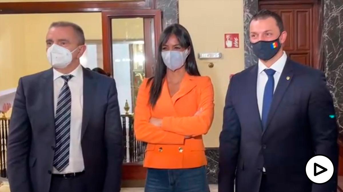"""Villacís y Franco presentan """"Madrid Capital del Lujo""""."""