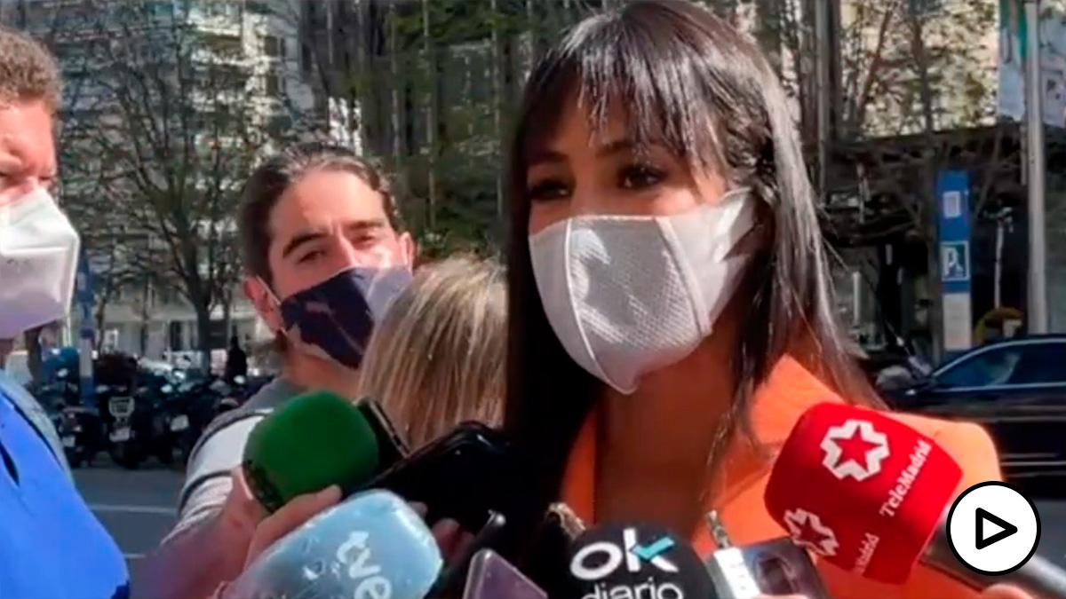 Villacis exige a Iglesias que condene el escrache que le propinó Alejandra Jacinto.