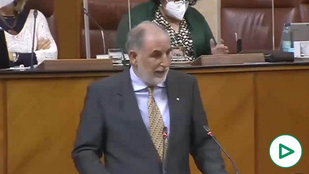 Macario Valpuesta, diputado de Vox en la Junta de Andalucía.
