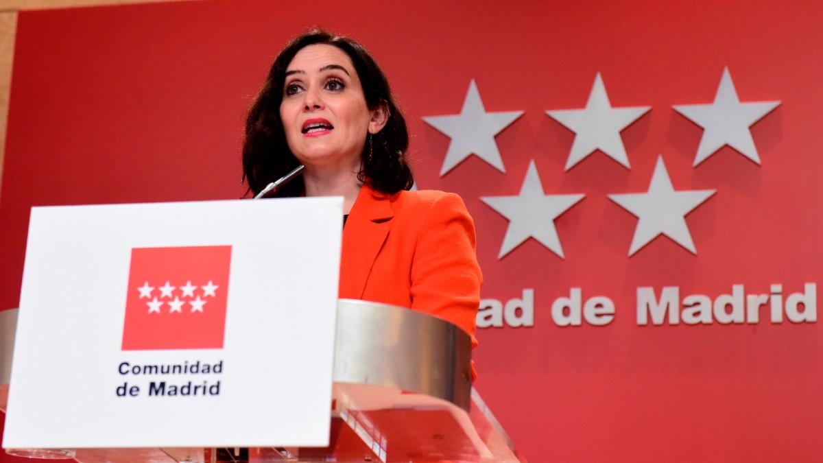 La presidenta de la Comunidad de Madrid, Isabel Díaz Ayuso. (Foto: Efe)