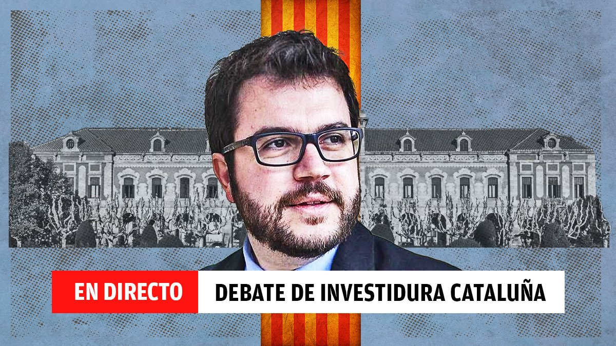 Última hora del debate de investidura en el Parlament de Cataluña.