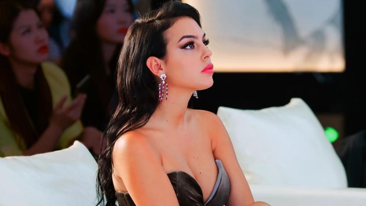 Georgina Rodríguez en una foto de Instagram.
