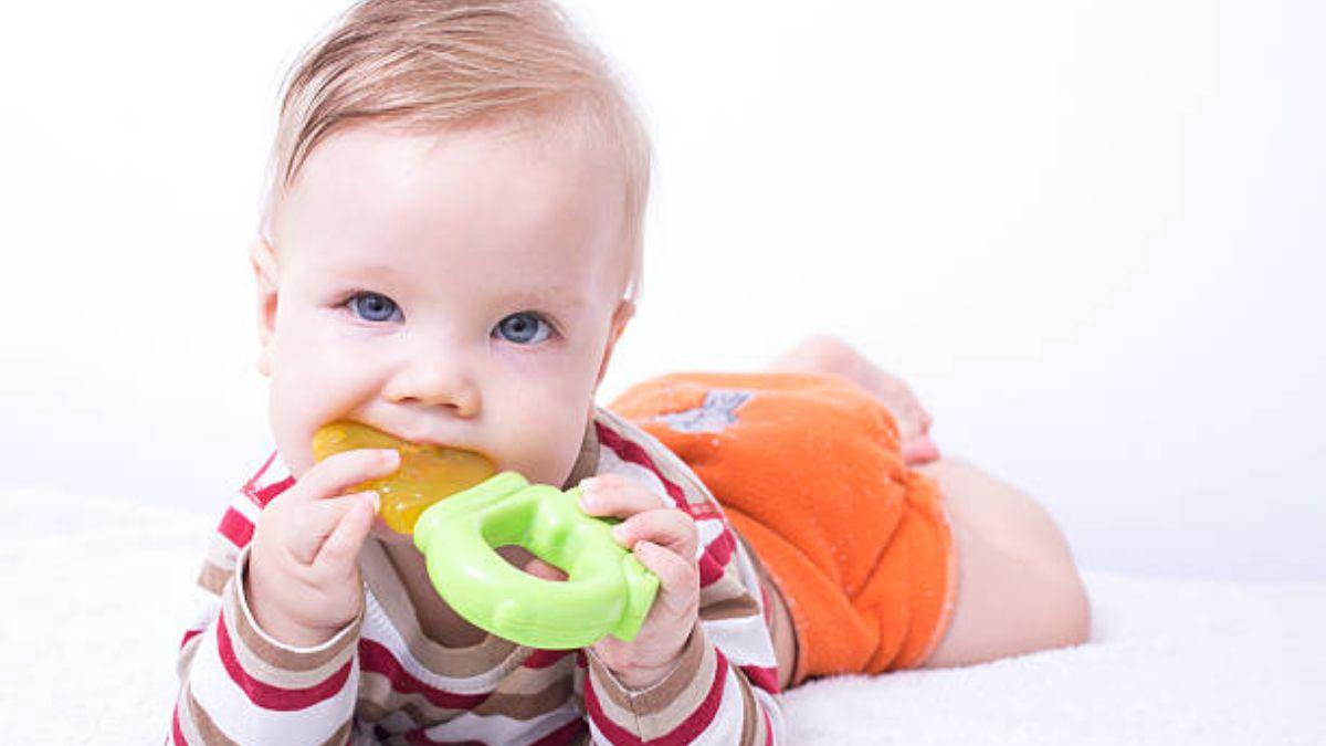 Estos son los mejores mordedores para el bebé
