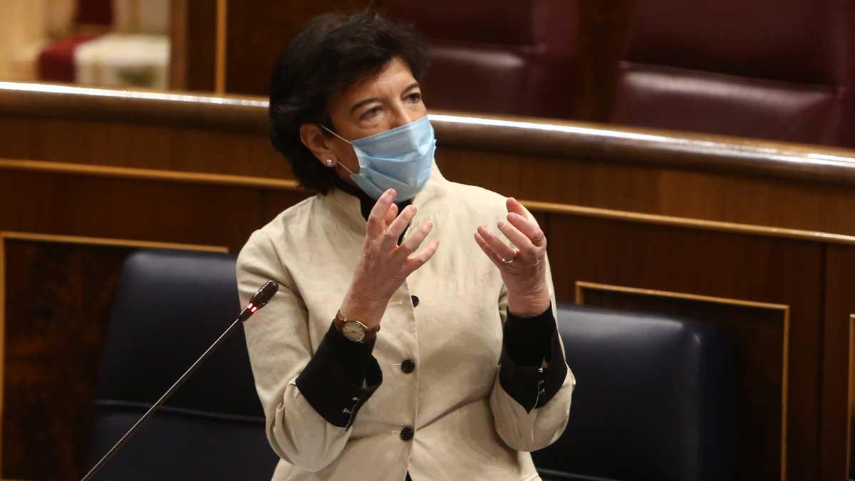 Isabel Celaá, ministra de Educación. Foto: EP