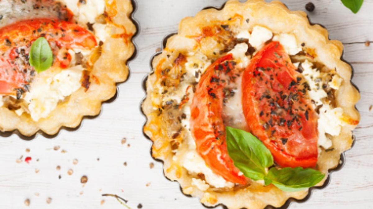 4 recetas de tartaletas saladas para preparar un aperitivo de restaurante en 10 minutos