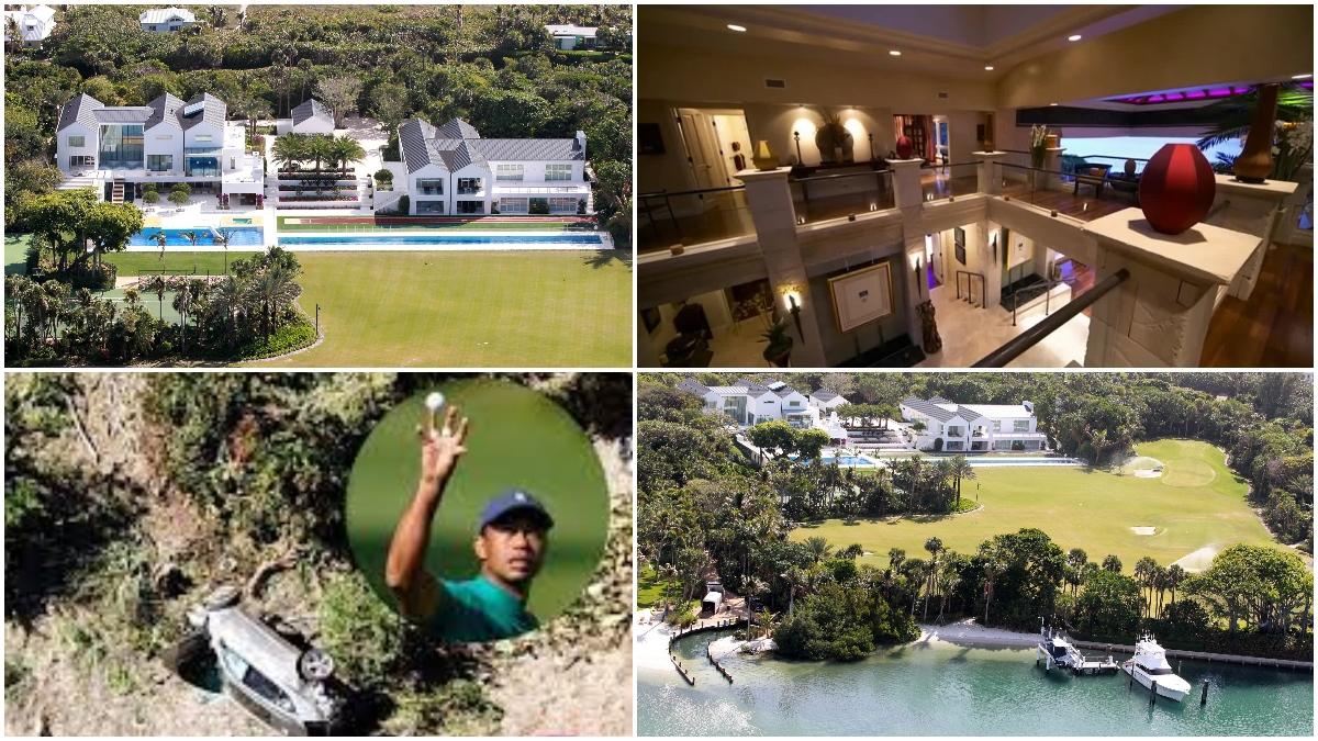 La mansión de Tiger Woods en Florida