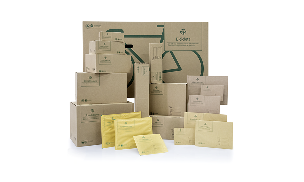 Embalajes ecológicos. @Correos