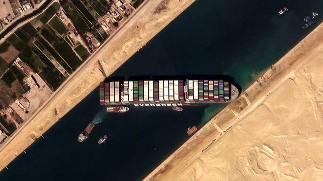 Los mejores memes del desbloqueo del Ever Given en el Canal de Suez