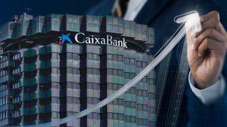 Caixabank adelanta a Santander