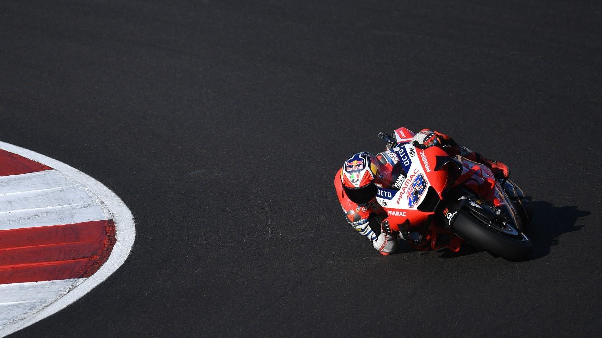 Jack Miller, durante una carrera. (AFP)