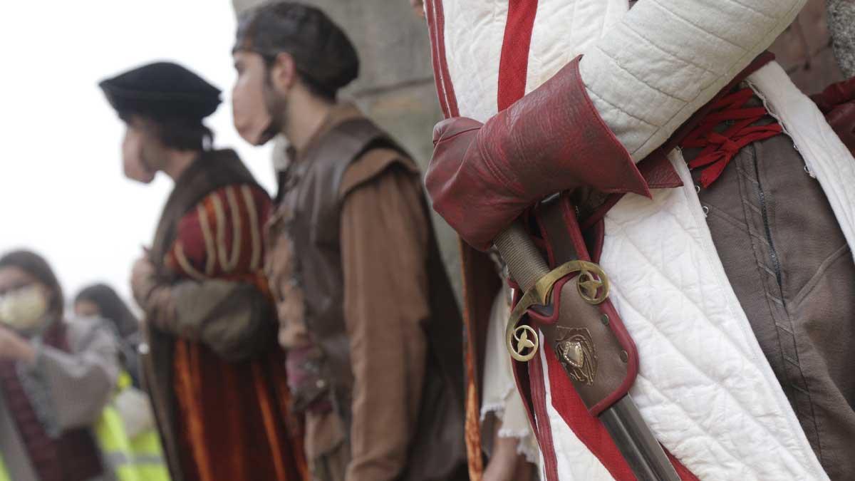 Presentación de las obras de los nuevos espectáculos de Puy du Fou España. Foto: EP