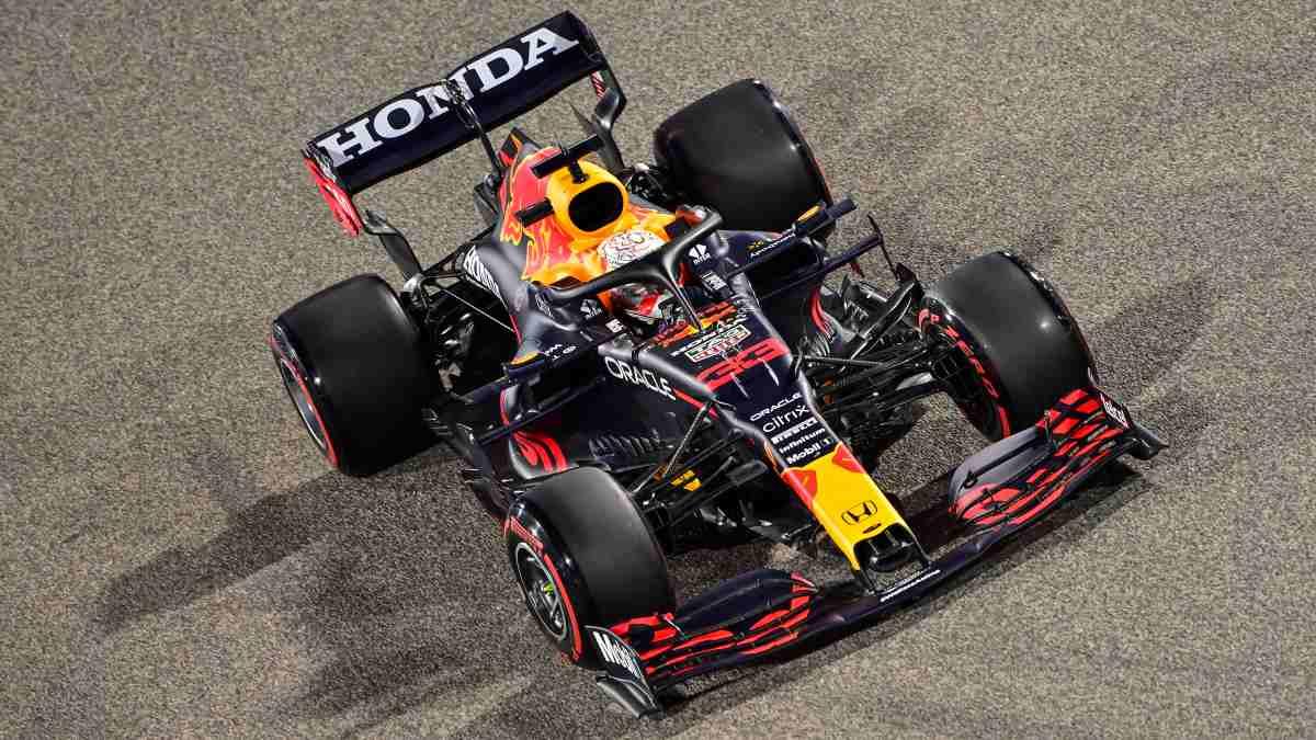 Max Verstappen durante la sesión de clasificación del Gran Premio de Baréin. (AFP)