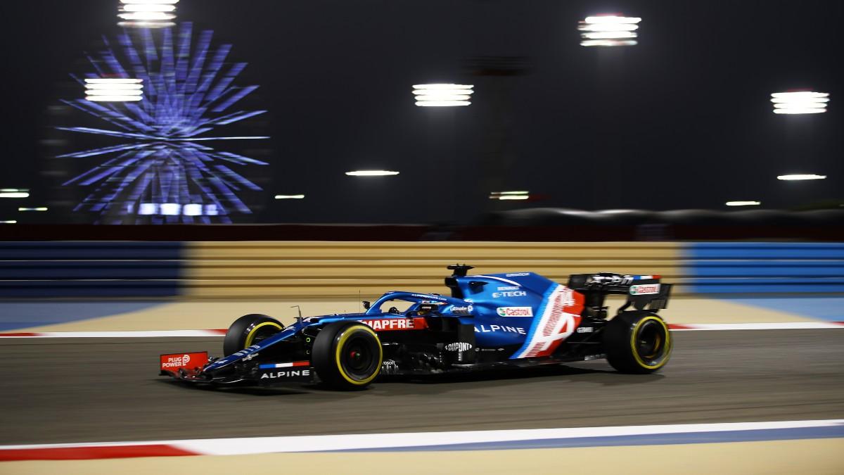 Fernando Alonso, en el GP de Baréin. (Getty)