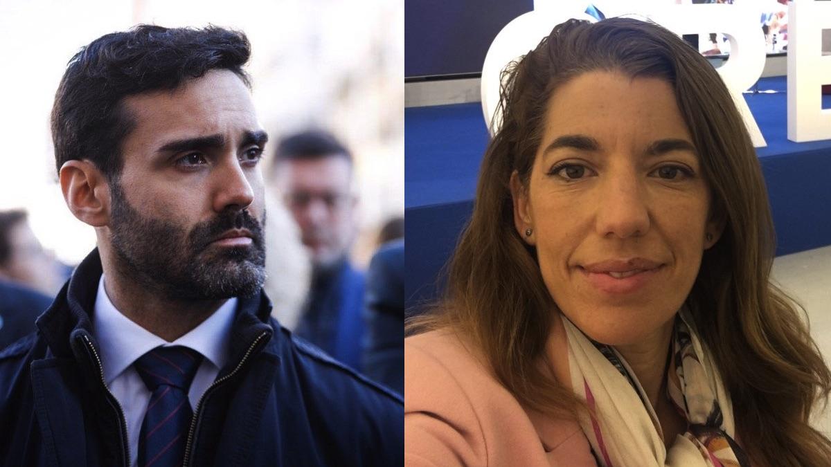 Sergio Brabezo y Marta Marbán.