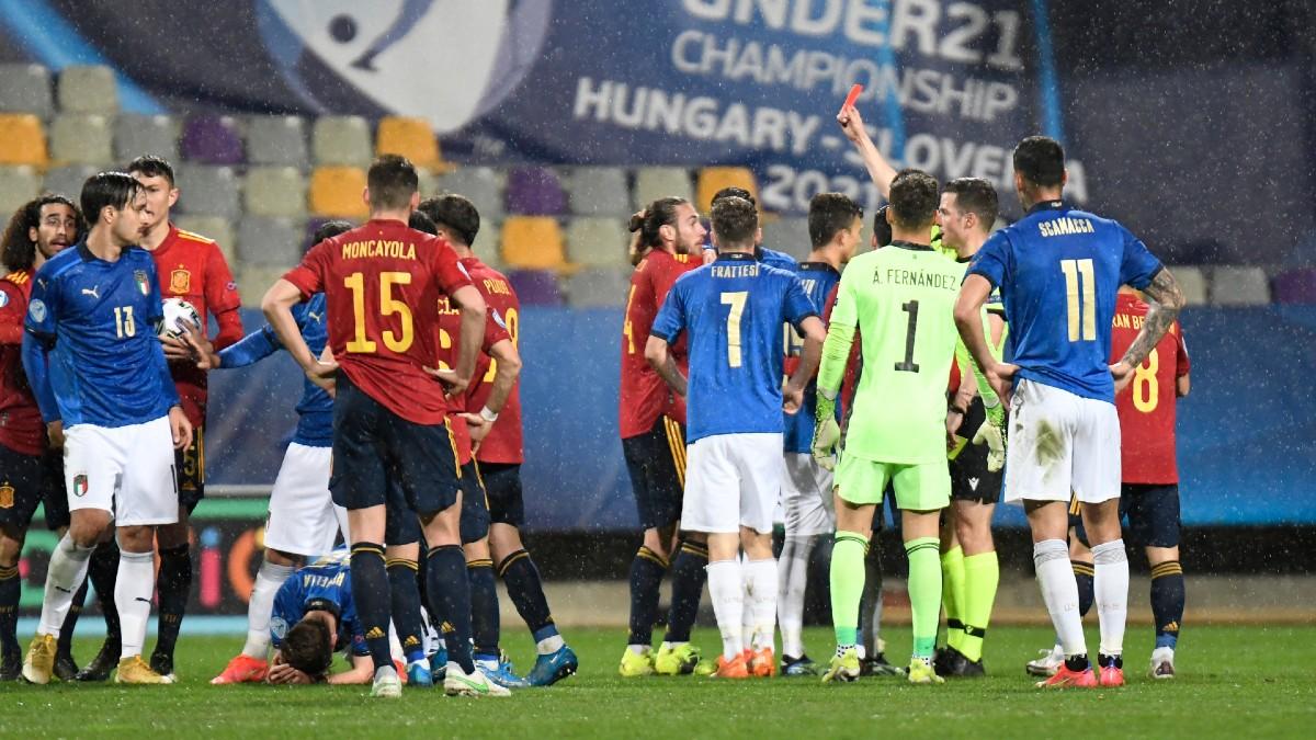 España pincha ante Italia y se jugará el pase en la última jornada. (Getty)