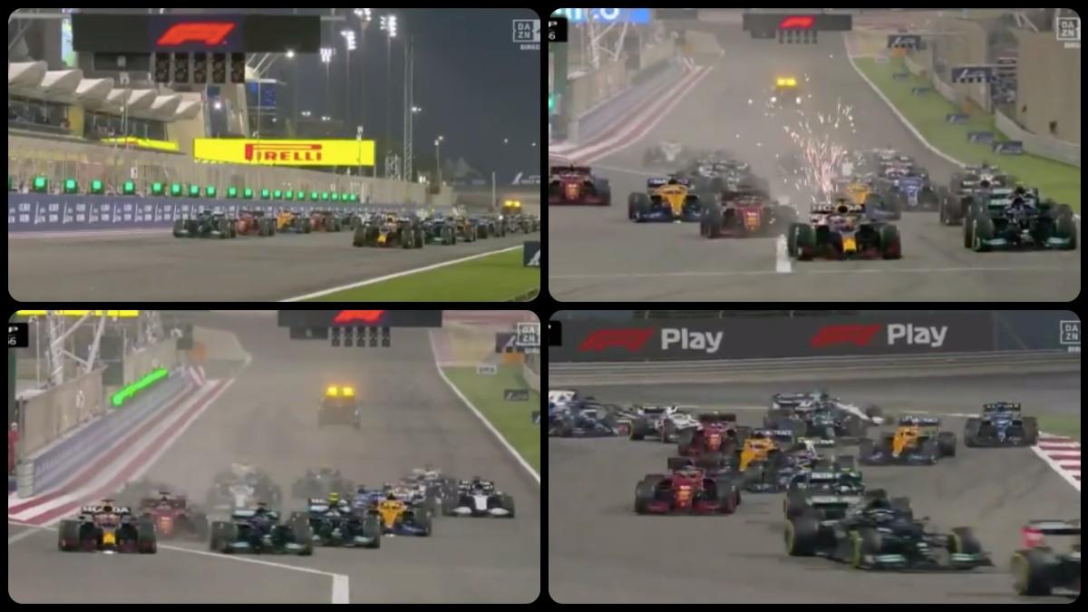 Así fue la impresionante salida de Fernando Alonso.