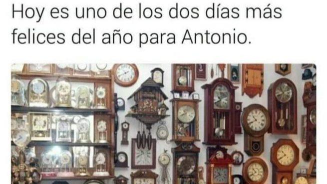 Los mejores memes del cambio de hora 2021 y el horario de verano