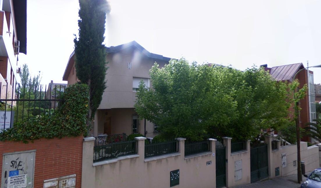 Chalet okupado cerca de la casa de Manuela Carmena.