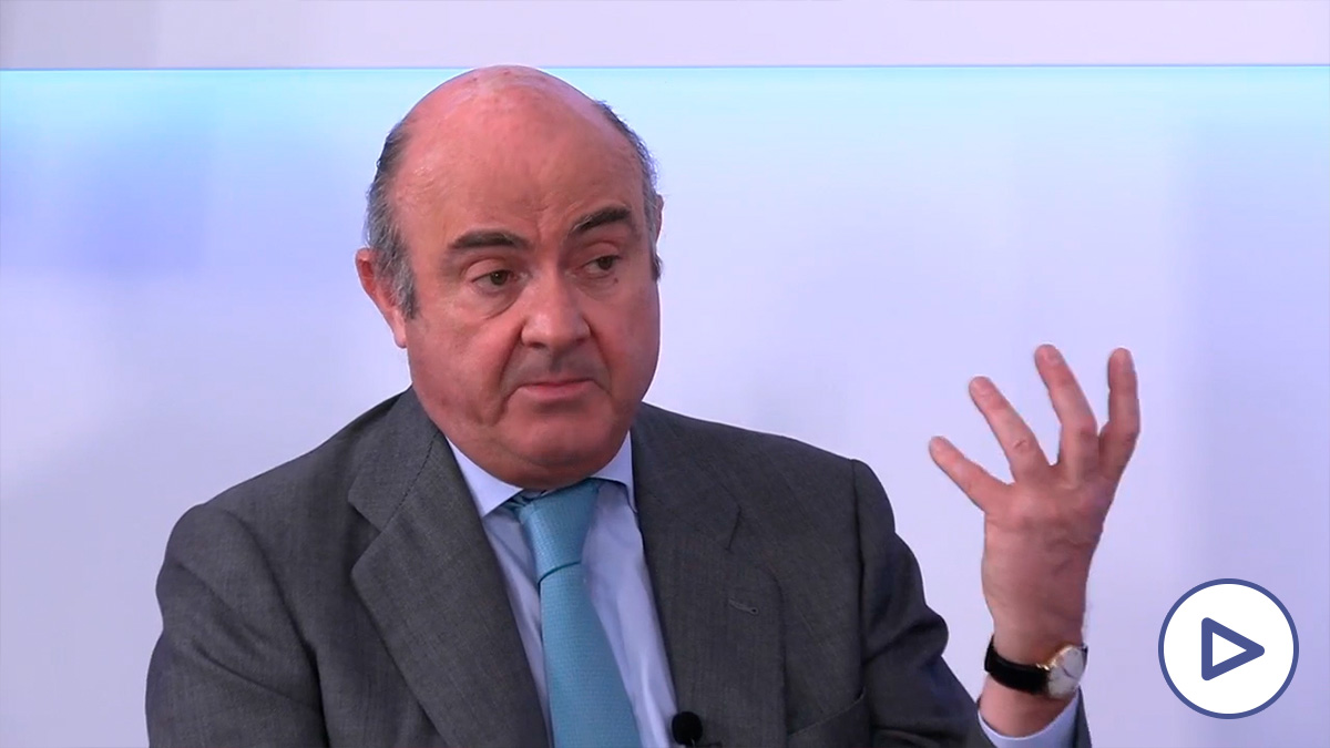 Luis de Guindos, vicepresidente del Banco Central Europeo