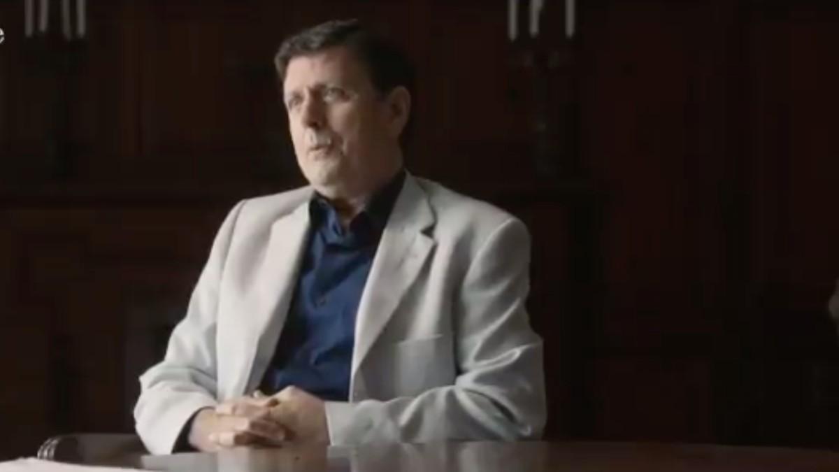 Eufemiano Fuentes, durante la entrevista con Évole. ('Lo de Évole')