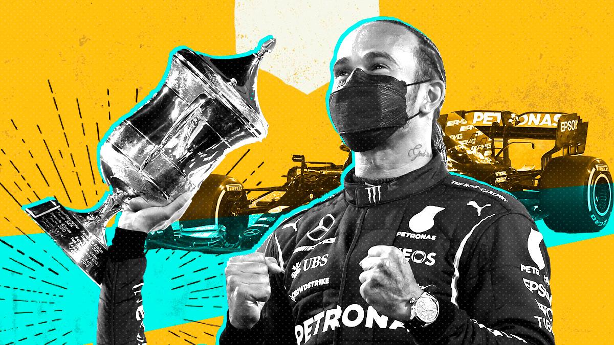 Hamilton ganó en Baréin.