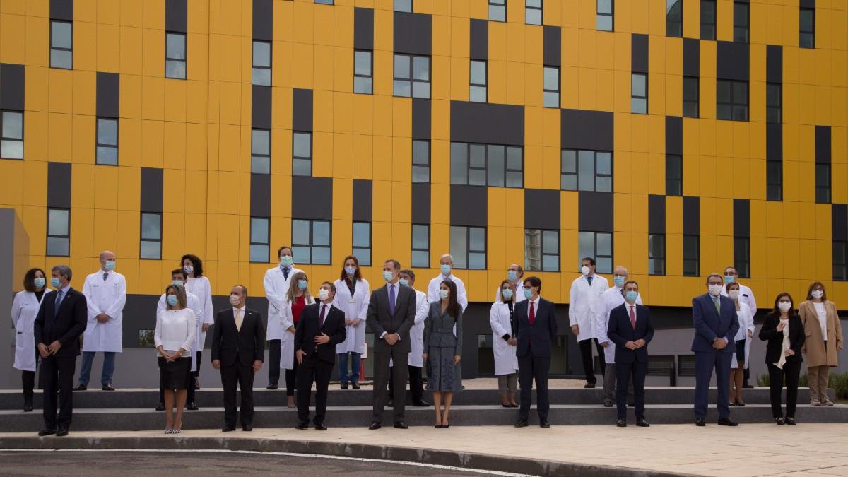 Inauguración del Hospital General Universitario de Toledo, con presencia de los Reyes, el pasado noviembre. (Foto: EP)