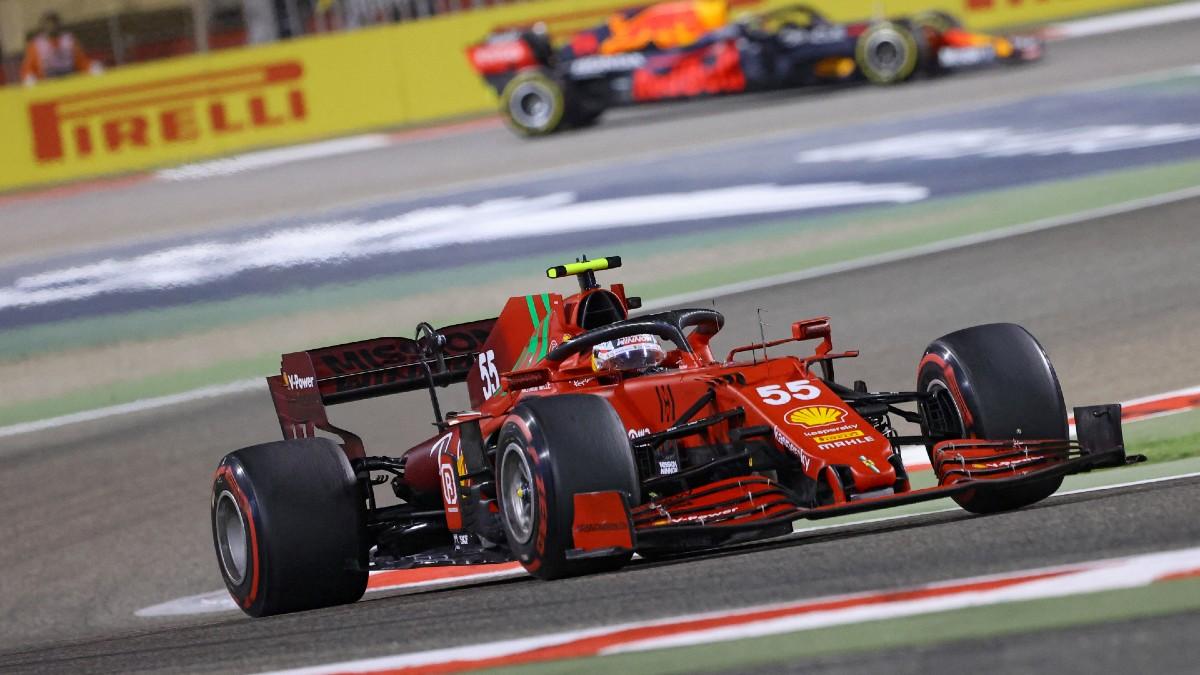"""Sainz: """"Acabar la carrera era la prioridad para coger experiencia con el coche"""". (AFP)"""