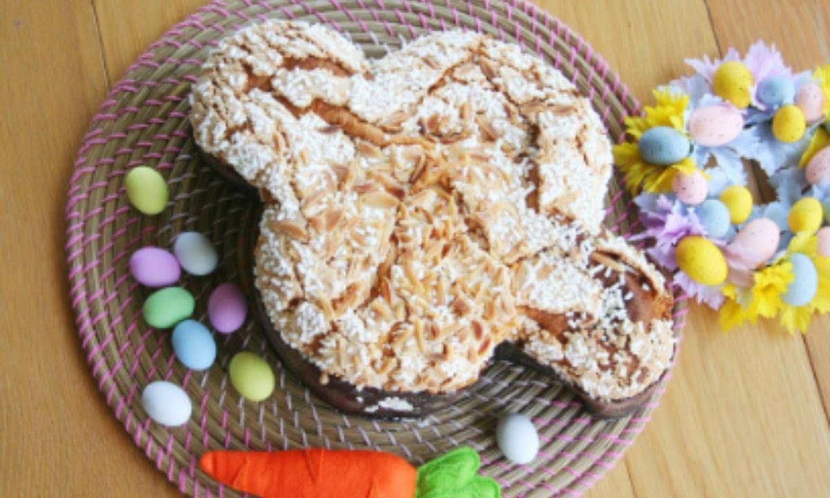 Colomba o paloma de Pascua, receta italiana de Semana Santa