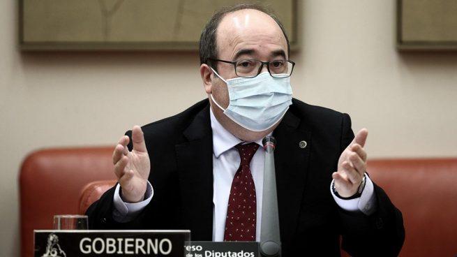 Miquel Iceta sanitarios
