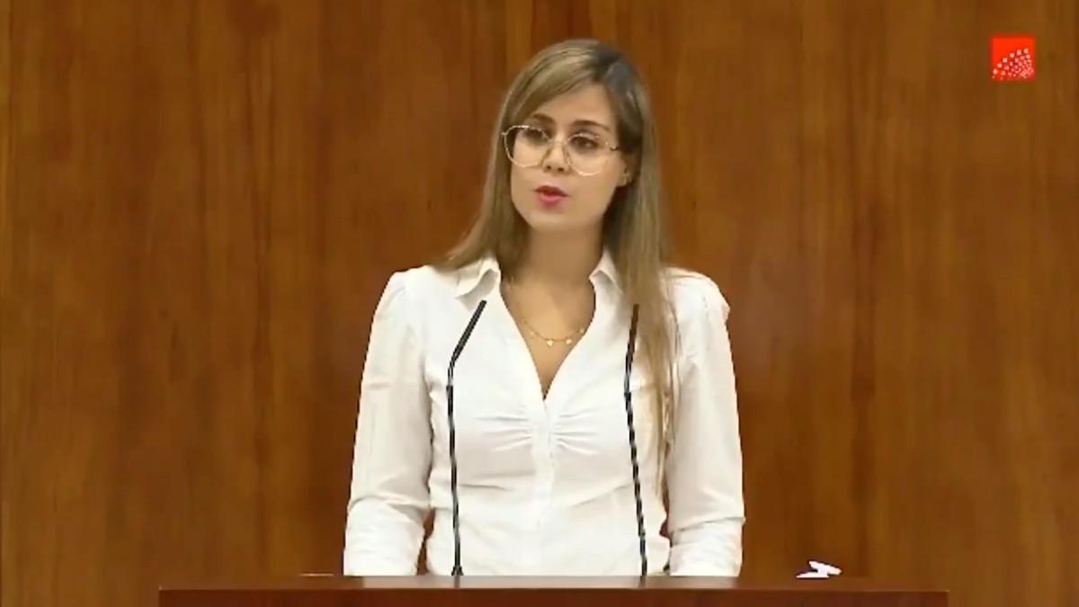 Elena Álvarez Brasero, diputada de Ciudadanos en la Asamblea de Madrid en la anterior legislatura.