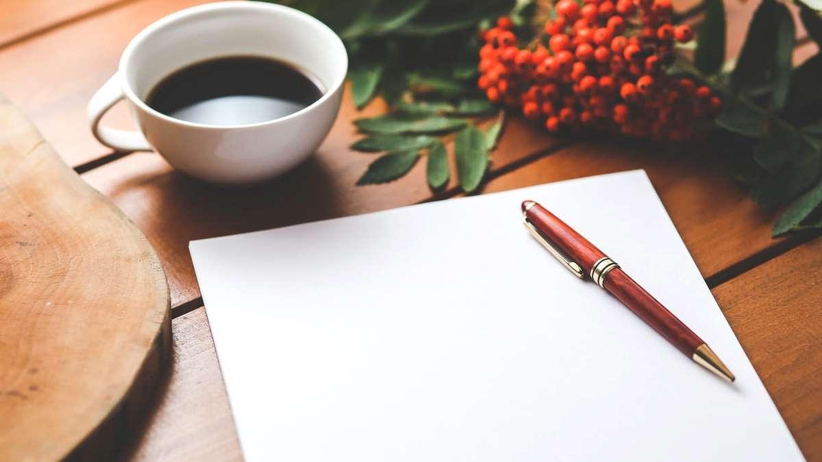 Escribir una carta es una de las formas más bonitas de comunicarse