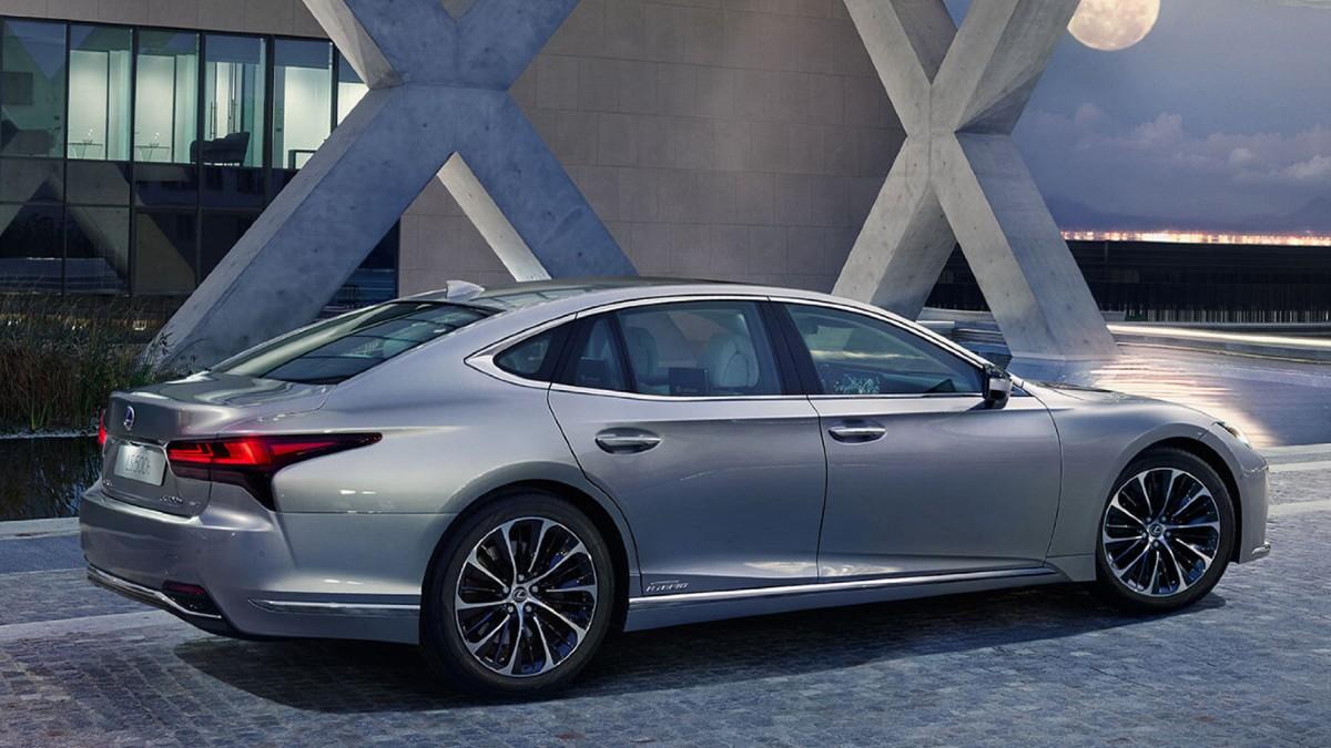 Una imagen del Lexus LS 500 (lexus.com)