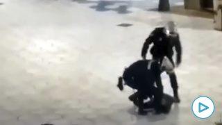 policías suspendidos