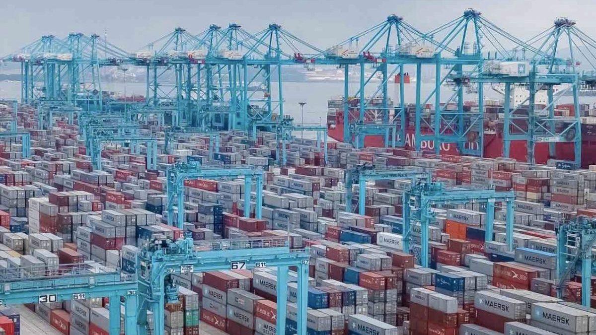 Puerto de Algeciras (Foto: Autoridad Portuaria de la Bahía de Algeciras).