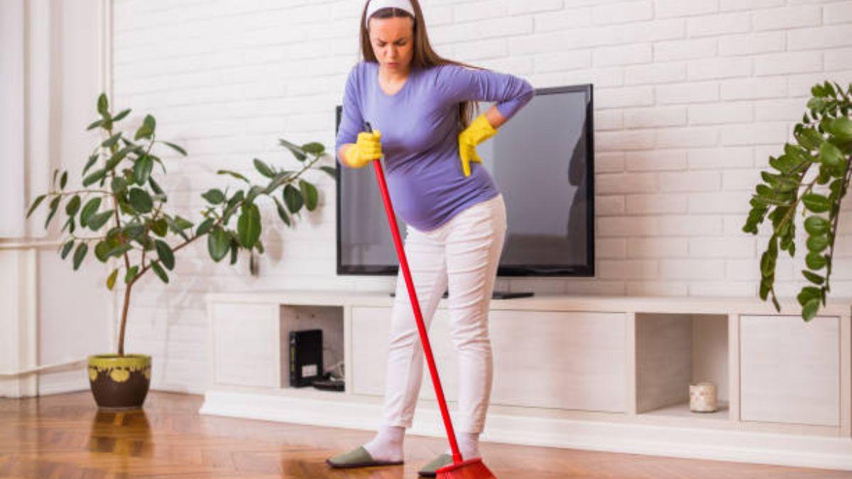 Las tareas del hogar que no se deben evitar durante el embarazo
