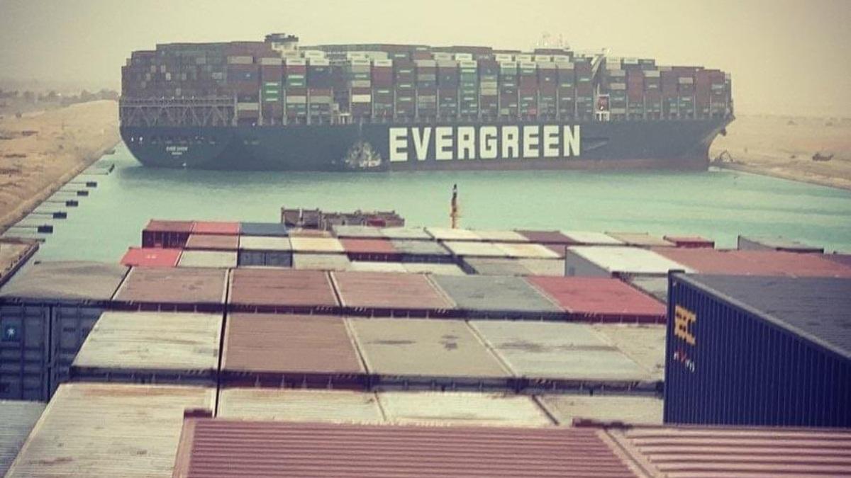 El carguero Ever Given