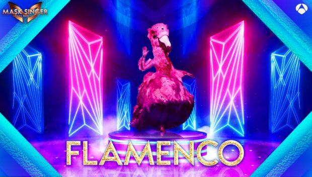 Flamenco es una de la nuevas máscaras de 'Mask Singer 2'
