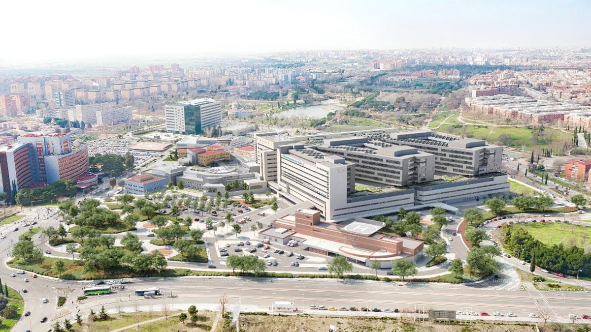 Vista del nuevo edificio del Hospital 12 de Octubre.
