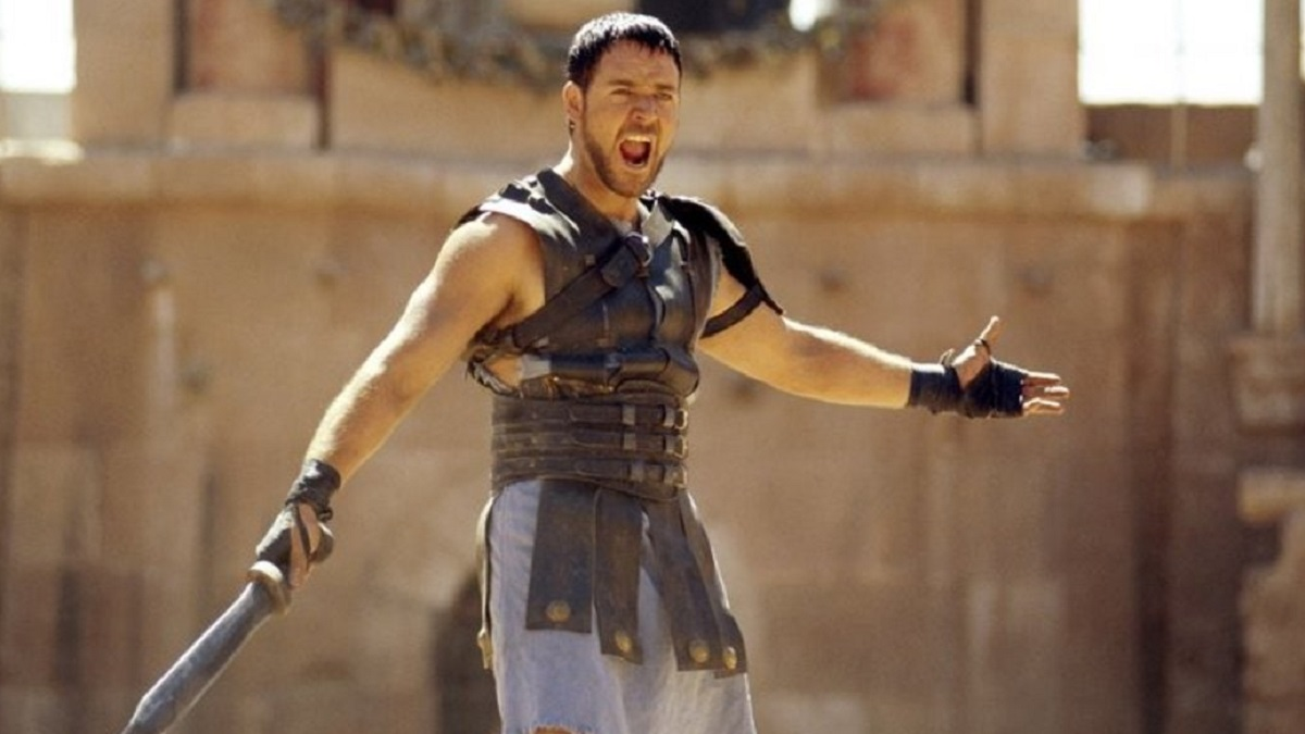 'Gladiator', de Russell Crowe (Universal Pictures)