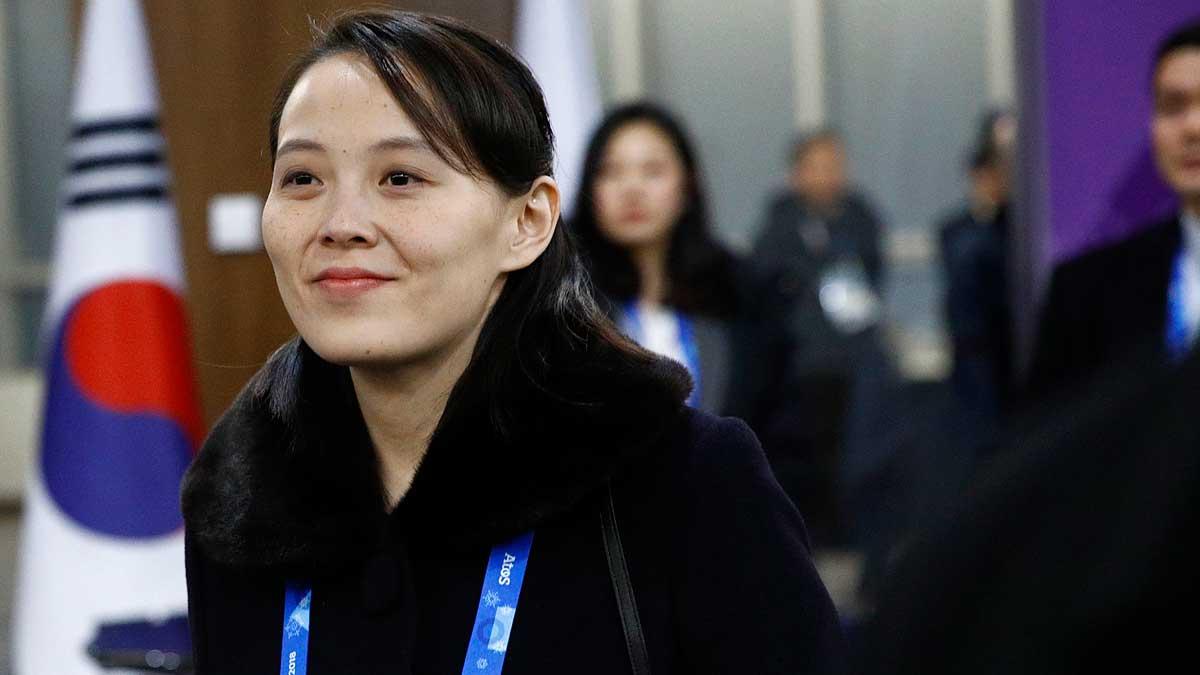 Kim Yo Jong, la hermana del líder de Corea del Norte, Kim Jong-un. Foto: EP