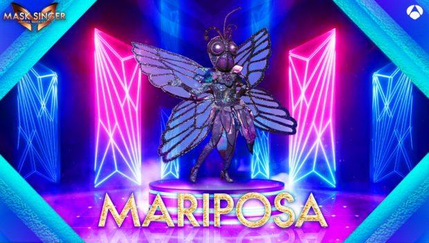 Mariposa también se une a la nueva temporada de Mask Singer 2