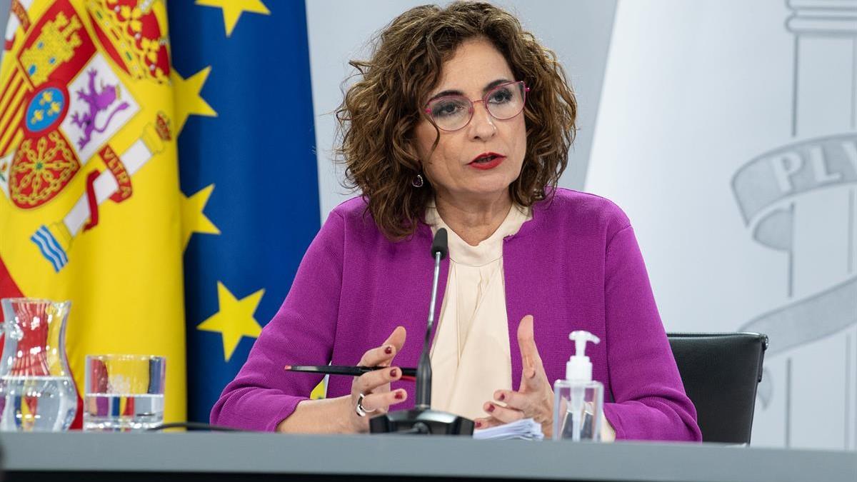 Ministra de Hacienta, María Jesús Montero