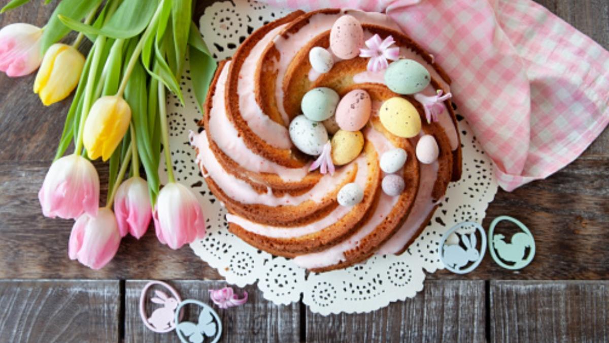 5 pasteles sin azúcar para decorar como tarta de Pascua