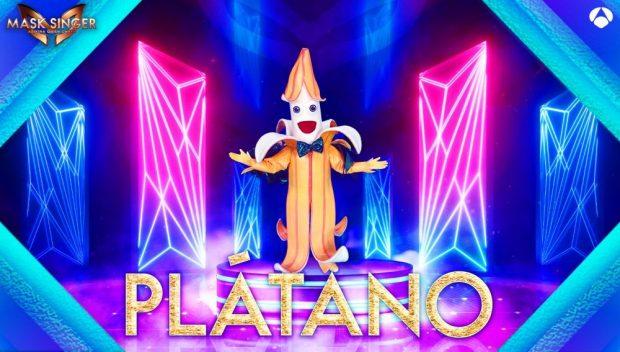 Plátano es una de las nueva máscaras de Mask Singer
