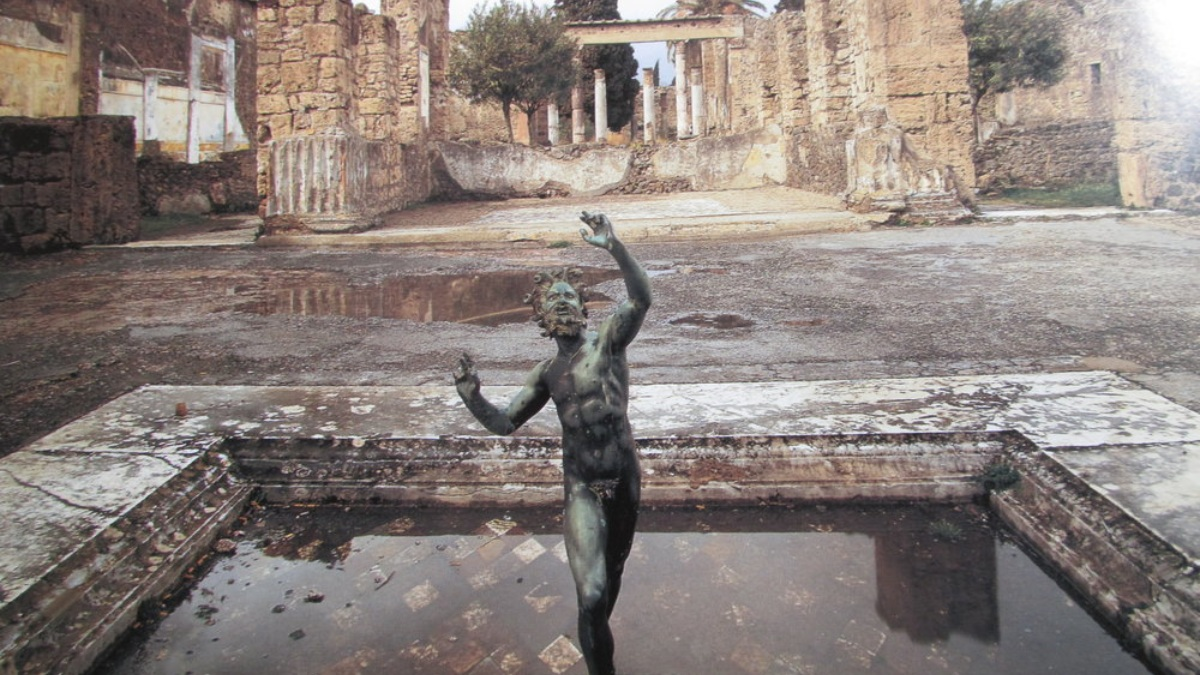 Pompeya, ciudad arrasada por las cenizas