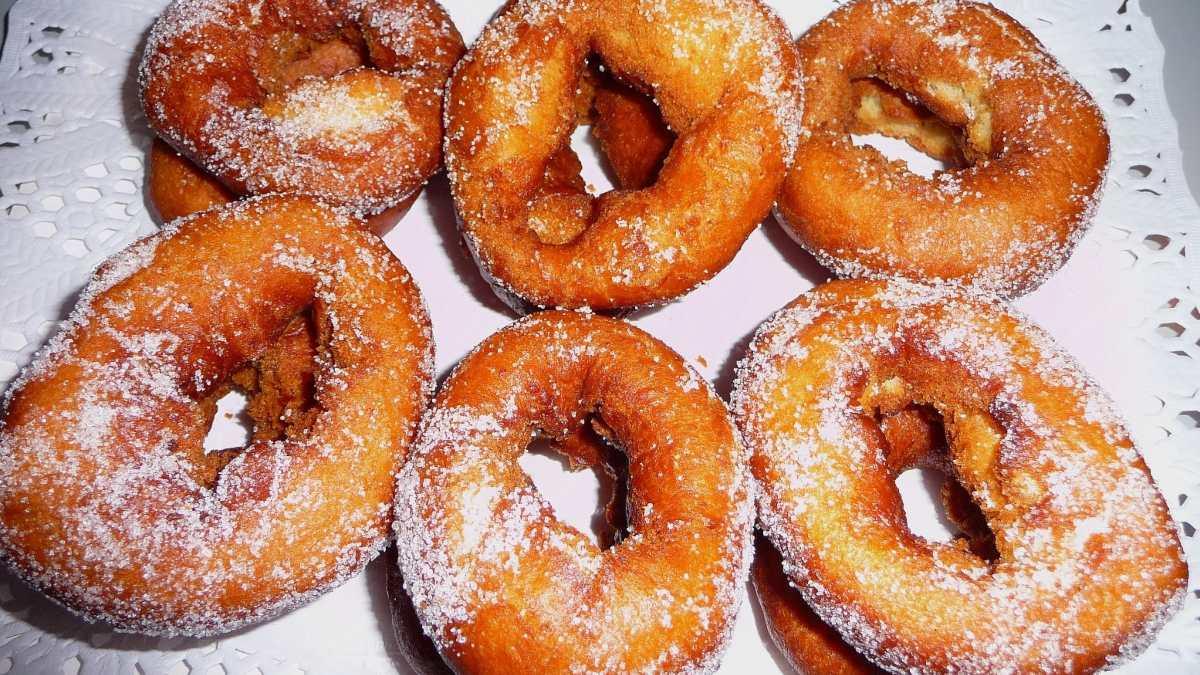 Receta de rosquillas de Semana Santa