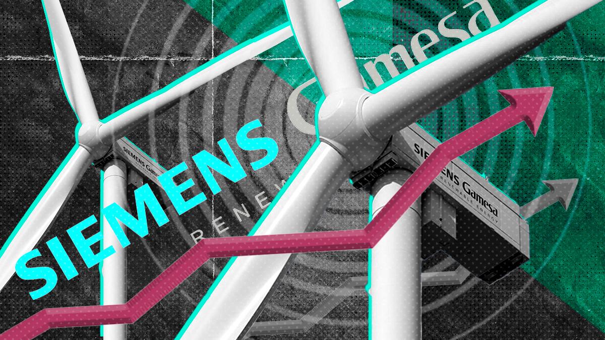 Siemens Gamesa se dispara casi un 5% en Bolsa tras ser elegida por Repsol para su proyecto eólico